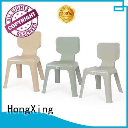 HongXing stackable children plastic chair great practicality for bedroom