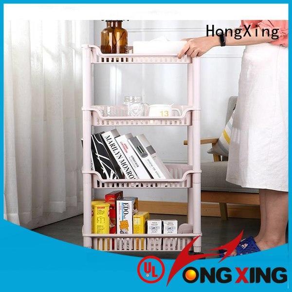 HongXing storage kitchen organiser rack free design for juice