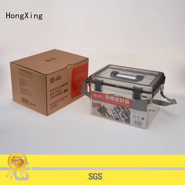 HongXing different sizes cheap plastic storage containers for storage small containers for storage clothes