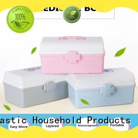HongXing wheels plastic storage boxes with lids for macaron