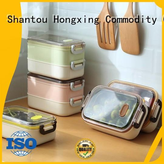 HongXing phone bento style lunch box stable performance for bread