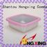 HongXing microwavable plastic food storage boxes directly sale for bread