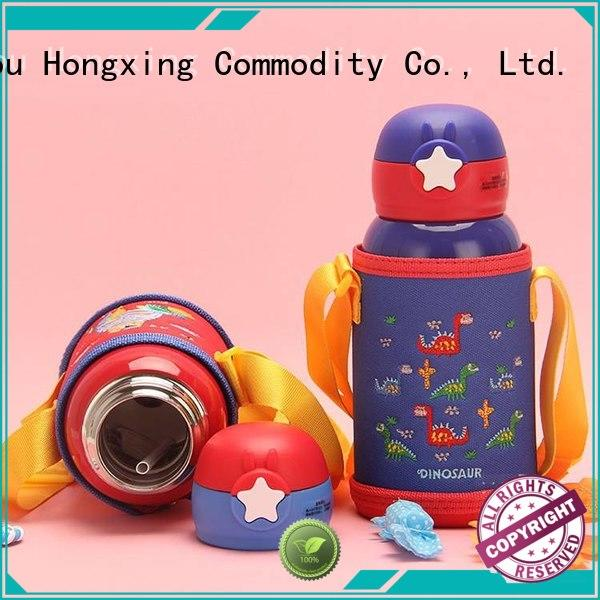 HongXing lovely plastic water bottles widely-use for students