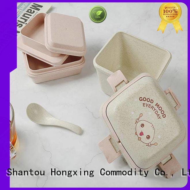 HongXing leak custom lunch box stable performance for noodle