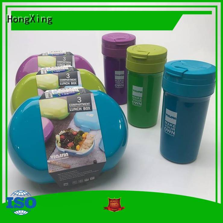 HongXing bpa bento lunch box containers reliable quality for stocking fruit