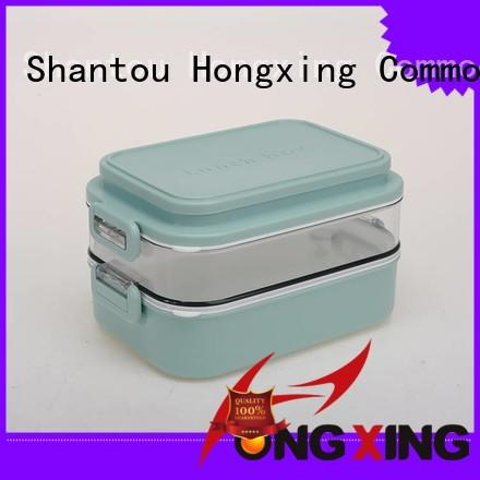 HongXing 2layer lunch box microwave safe stable performance for rice