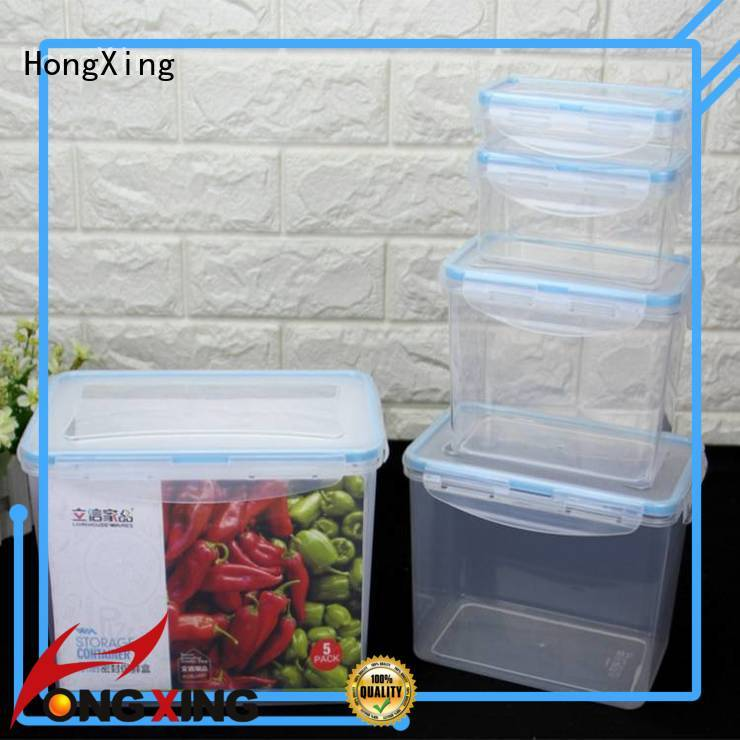 good design airtight food storage containers 3pcs with many colors for fruits