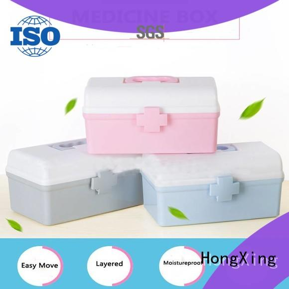 HongXing practical plastic storage container stable performance for salad