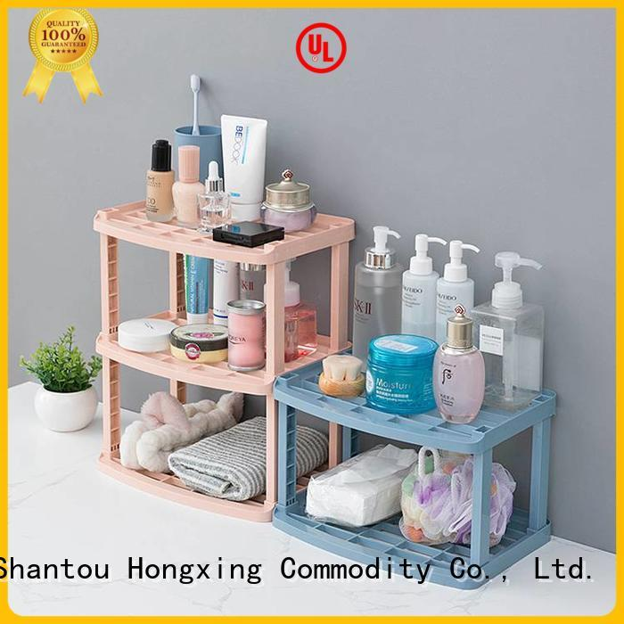 HongXing Various styles plastic shelf rack bulk production for home juice