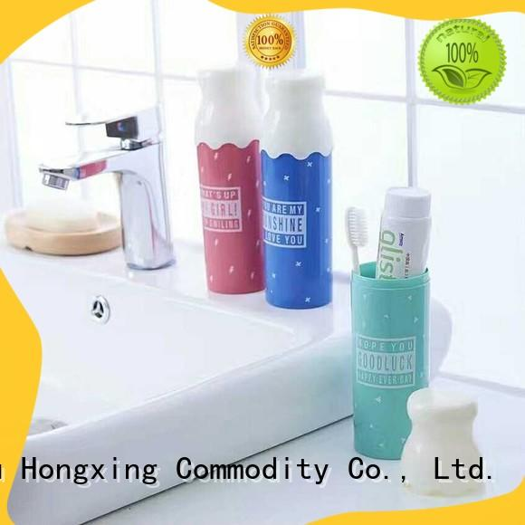 HongXing Various styles bamboo toothbrush holder China supplier for home