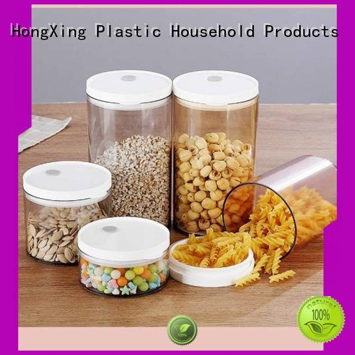 HongXing shape plastic food storage containers factory for bread