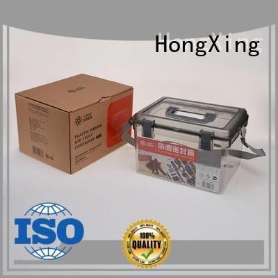 HongXing shape plastic storage boxes with wheels good design for salad