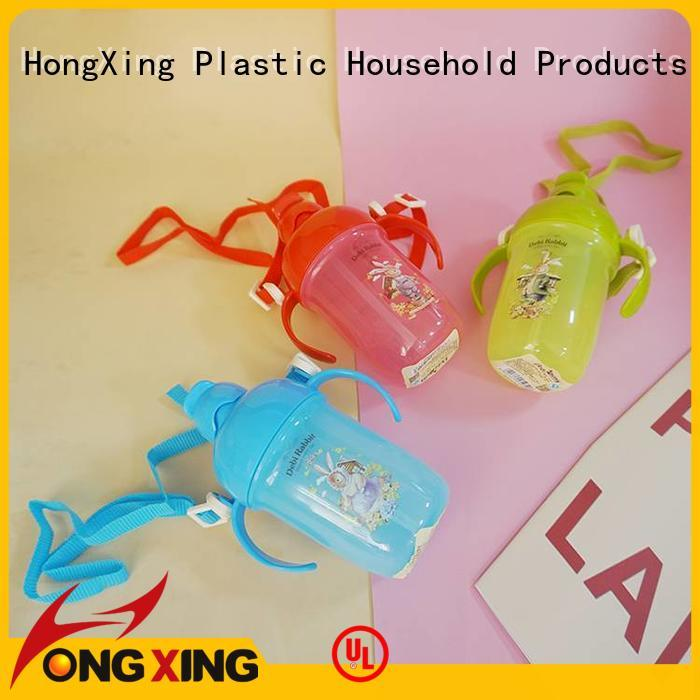 HongXing pattern plastic drinking bottles widely-use for kids