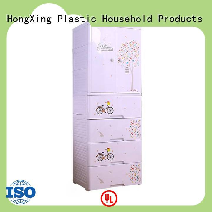 baby plastic drawer cabinet for room HongXing