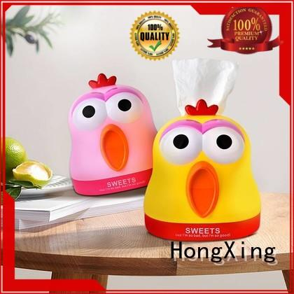 HongXing safe white tissue holder from China for office