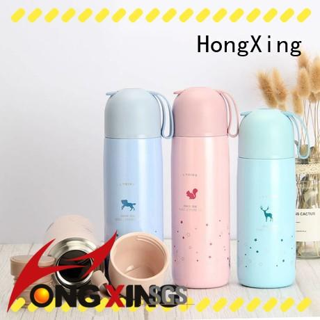 HongXing lovely plastic sports water bottles widely-use for workers