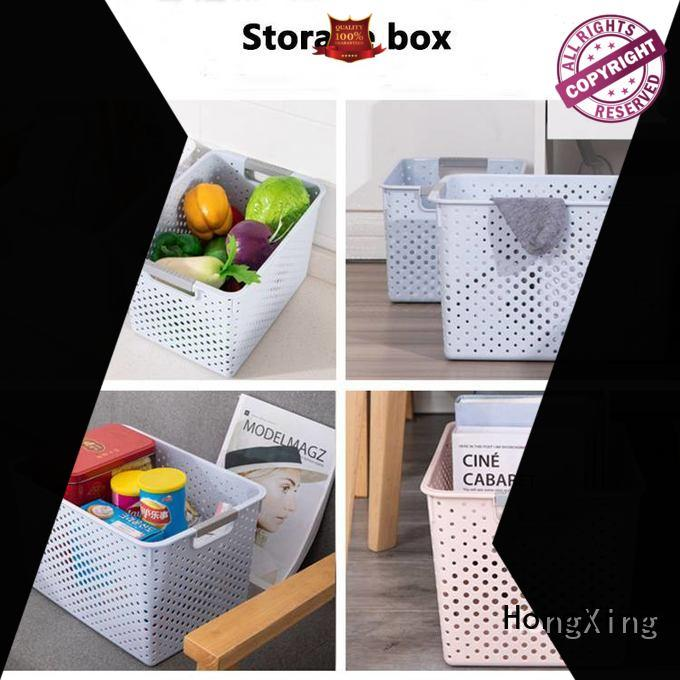 HongXing simple plastic picnic basket with excellent performance for storage jars