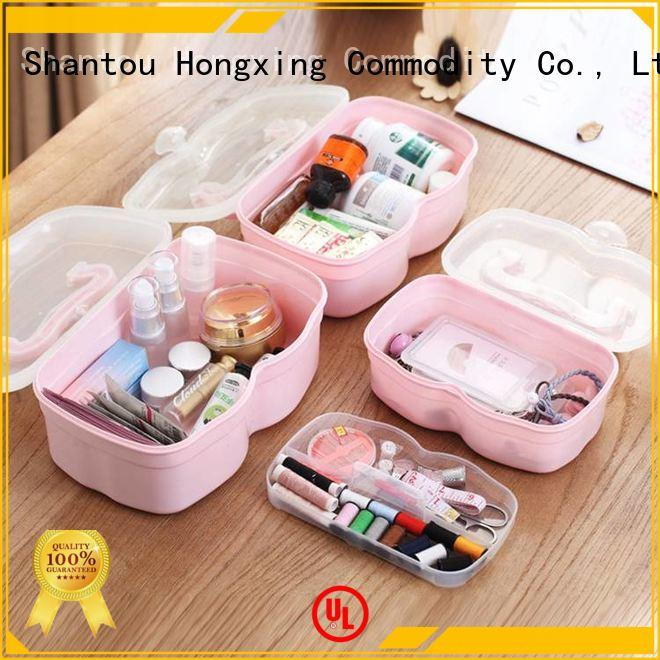 HongXing different sizes plastic first aid box with excellent performance for office