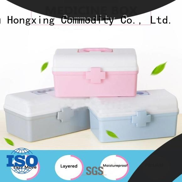 HongXing fashionable plastic container box stable performance for sandwich