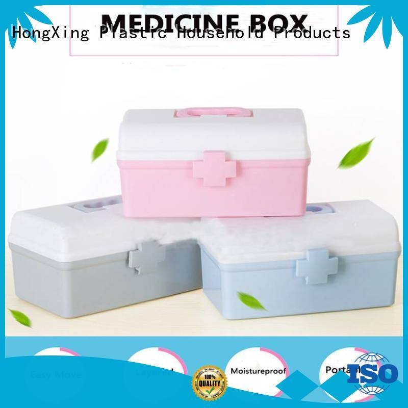 HongXing sizes plastic storage container good design for rice