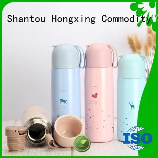 HongXing lovely plastic drinking bottles widely-use for teacher