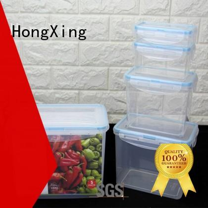 HongXing 100% leak-proof airtight food storage with many colors for salad