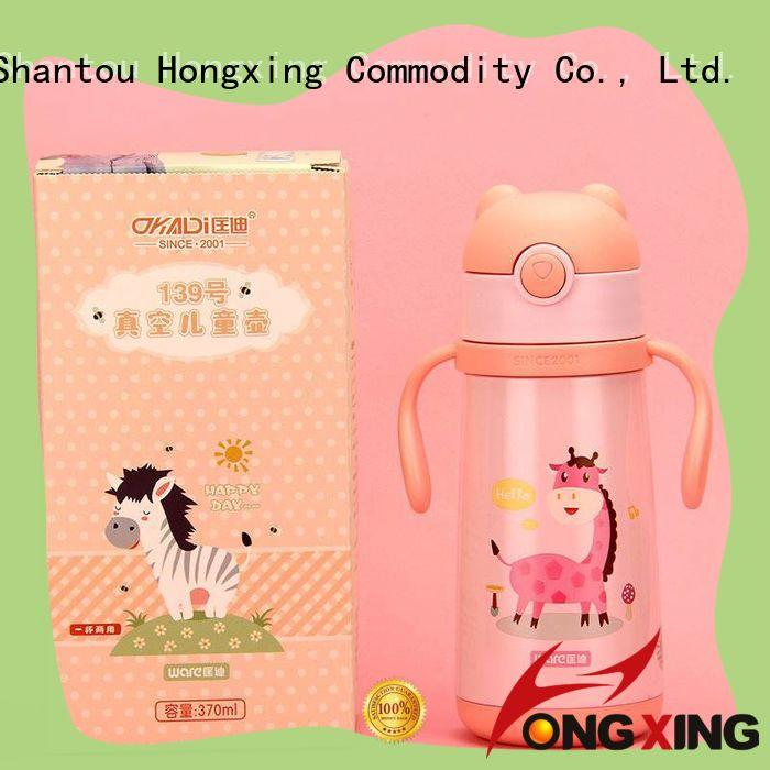 HongXing printing baby water bottle widely-use for adults