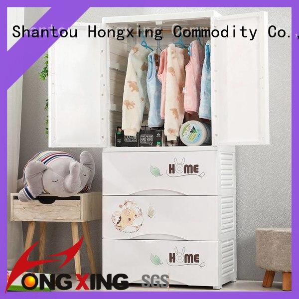 HongXing pp plastic storage cabinets bulk production for room