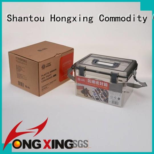 HongXing panties clear plastic storage containers for storage household items for storage clothes
