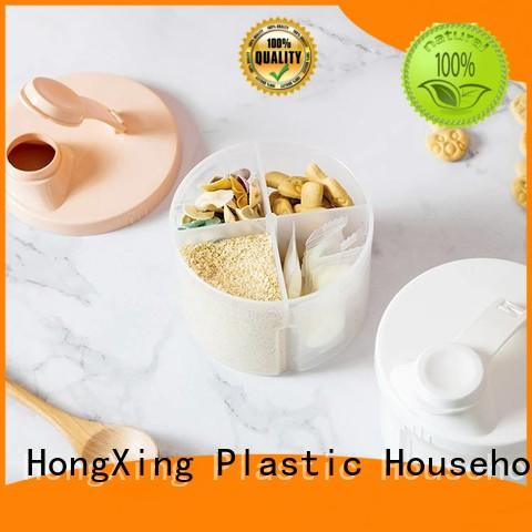 HongXing styles baby formula container with good price