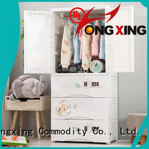 HongXing large capacity plastic storage drawers for clothes order now for storage books
