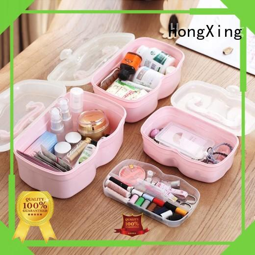 HongXing durable handle plastic first aid box professional services in different colors