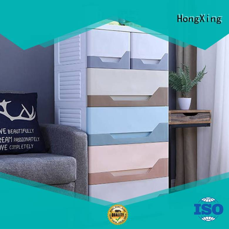 HongXing fashionable custom plastic containers free design for storage books