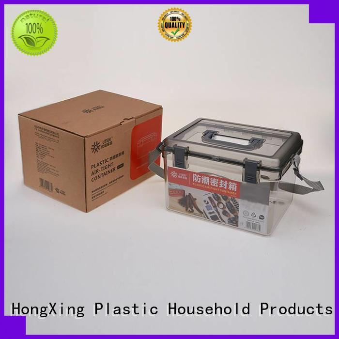 HongXing has plastic storage boxes with lids stable performance for bread