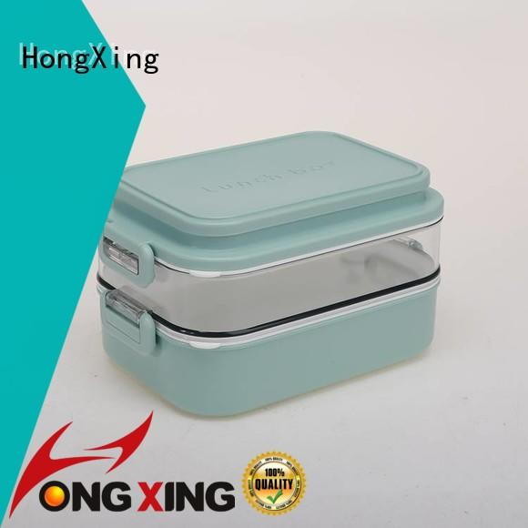HongXing stable performance plastic tiffin box for snack