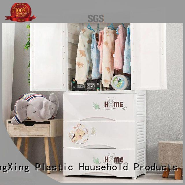 HongXing practical plastic cupboard for clothes certifications for living room