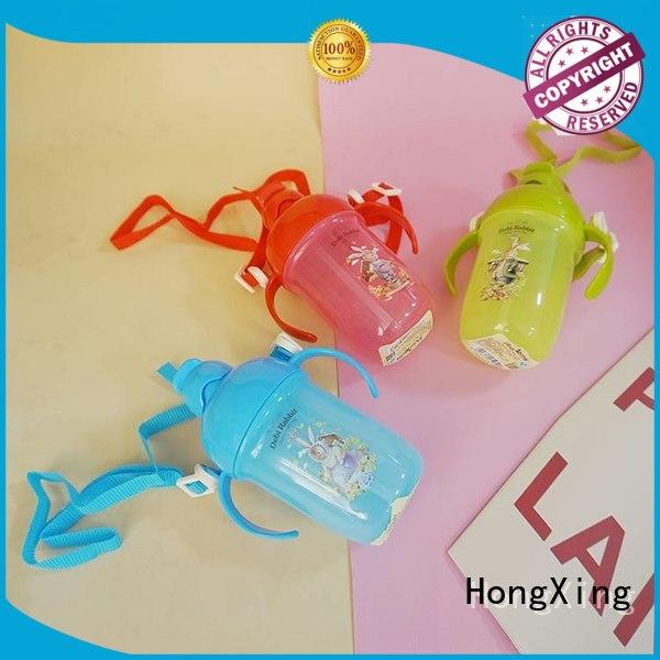 HongXing kid plastic water bottles Chinese supply for baby