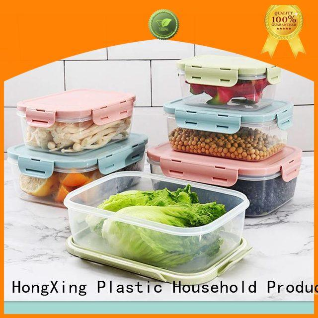 HongXing containers food grade plastic containers in different colors for macaron