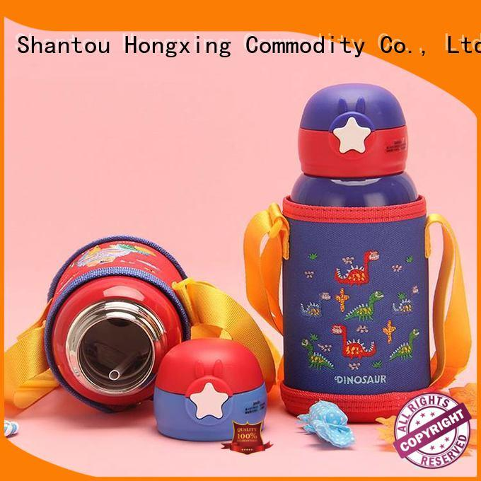 HongXing kids plastic sports water bottles widely-use for kids