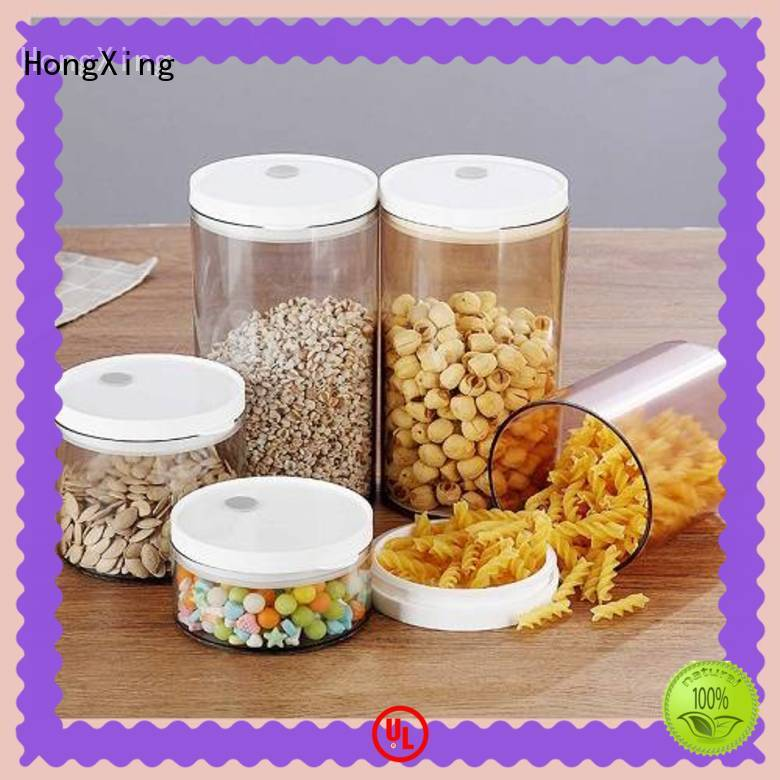 HongXing good design plastic food storage  manufacturer for rice