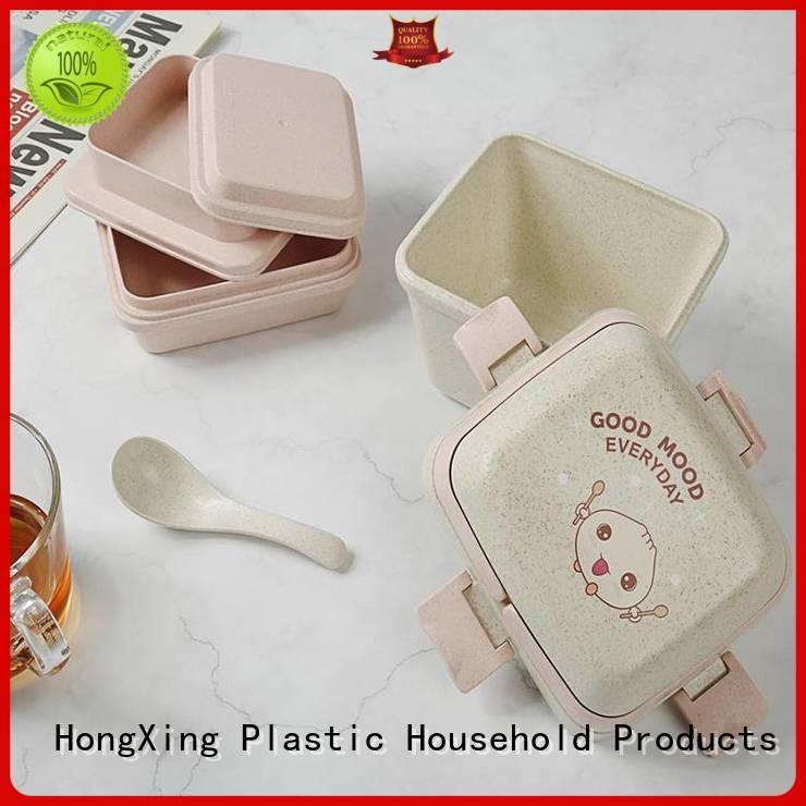 HongXing great practicality bento style lunch boxes for adults plastic for stocking fruit