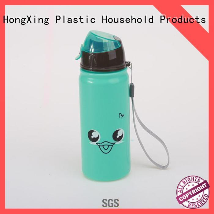 safe personalized plastic water bottles for kids long-term-use for adults HongXing