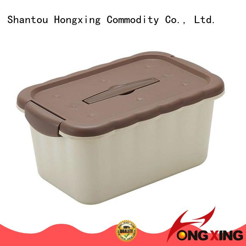 HongXing health plastic storage box good design for cookie