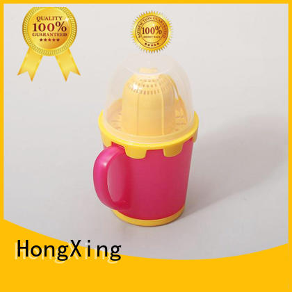 lemon personalized plastic coffee mugs factory price for juice HongXing