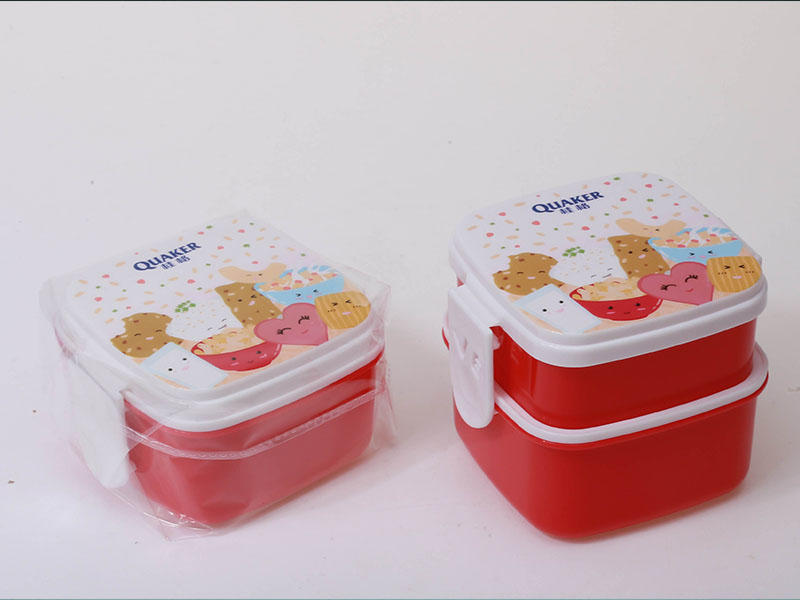 custom plastic storage containers of QUAKER