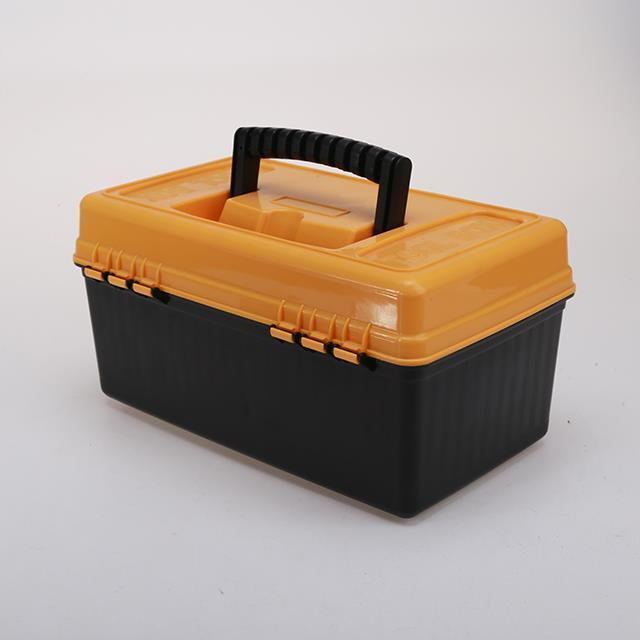 PP material plastic carry tool box with handle