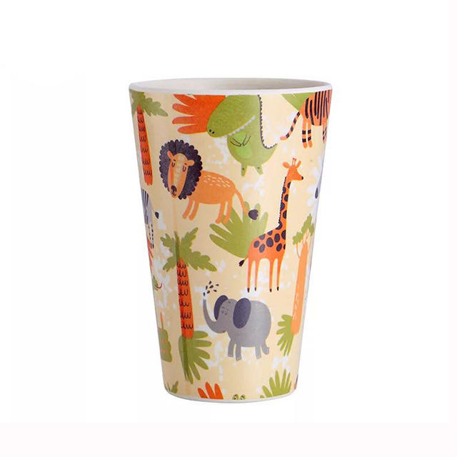 HX0032551 Eco-friendly Bamboo Fibre Plastic Cartoon Printing Coffee mug&Cups 350ML - 420ML - 480ML