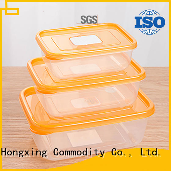 HongXing good design food storage containers with many colors for candy