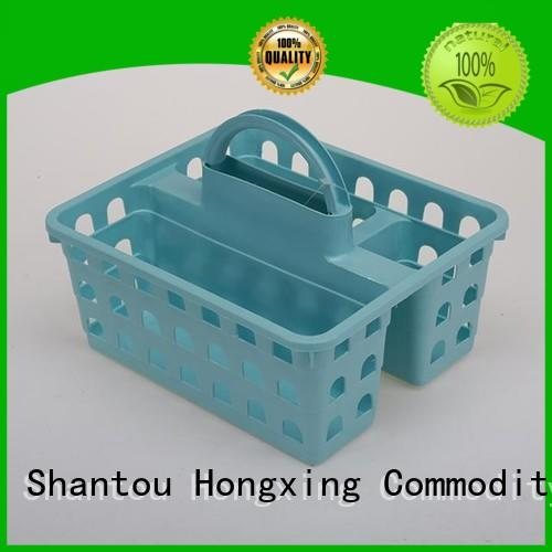 HongXing plastic small plastic storage baskets for storage household items