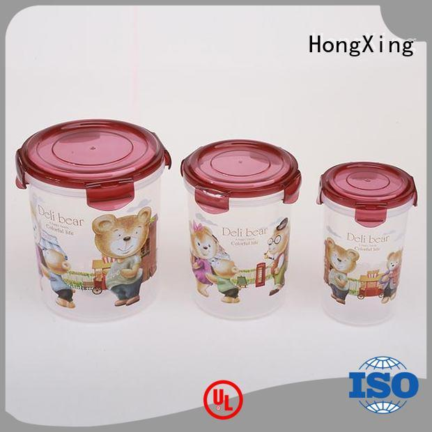 HongXing container plastic airtight containers from China for noodle